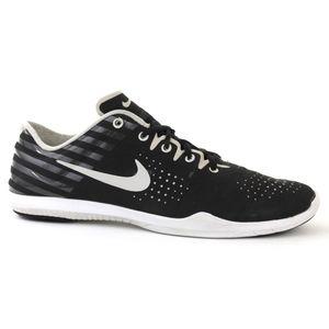 Nike Studio Trainer Print Womens Black White 8.5